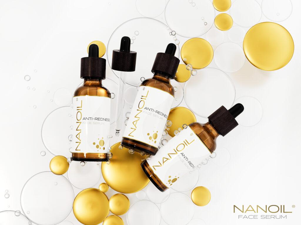 Nanoil polecane serum do twarzy do cery naczynkowej